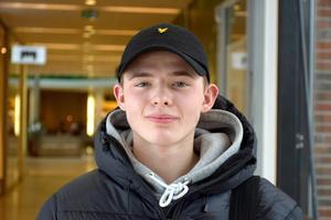 Eric Bergqvist, 16, studerande, Tunadal: