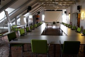 Interiör från det kontor på Alderholmen där delar av nybildade Sektor välfärd finns.