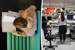 Sveriges arbetsterapeuter vill se en positiv löneutveckling i kvinnodominerande yrken. Bild: Anders Wiklund/TT / Henrik Montgomery/TT