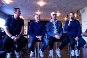 HV71:s kommunikationschef Johan Freijd frågade ut tränaren Stephan