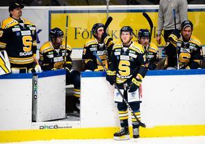 Sebastian Bengtsson har åkt på en skada och missar torsdagens match mot AIK. Foto: Simon Hastegård / Bildbyrån