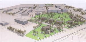 Redan i höstas blev det klart med en detaljplan på Hågesta för ett helt nytt område med 50 bostäder.