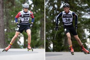 Lucas Wanner från Ornäs tog brons i distansloppet i H 16–17. Samuel Dunder , Mora, vann SM-guld i samma lopp och dessutom brons i sprinten.