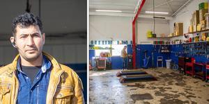 Mosab Al-Wawe har öppnat företaget Rexon i Söderhamn.
