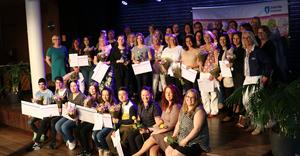 Alla pristagare. Foto: Södertälje kommun