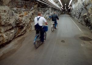 Interiör från Musköbasen, från tiden när basen var i fullt bruk före försvarsbeslutet 2004. Foto: Lennart Nygren/TT