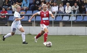 Wilma Näslund öser på.