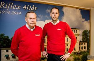 Jan och Martin Hagman går med affären skilda vägar. Men de kommer fortsätta samarbetet även i framtiden.