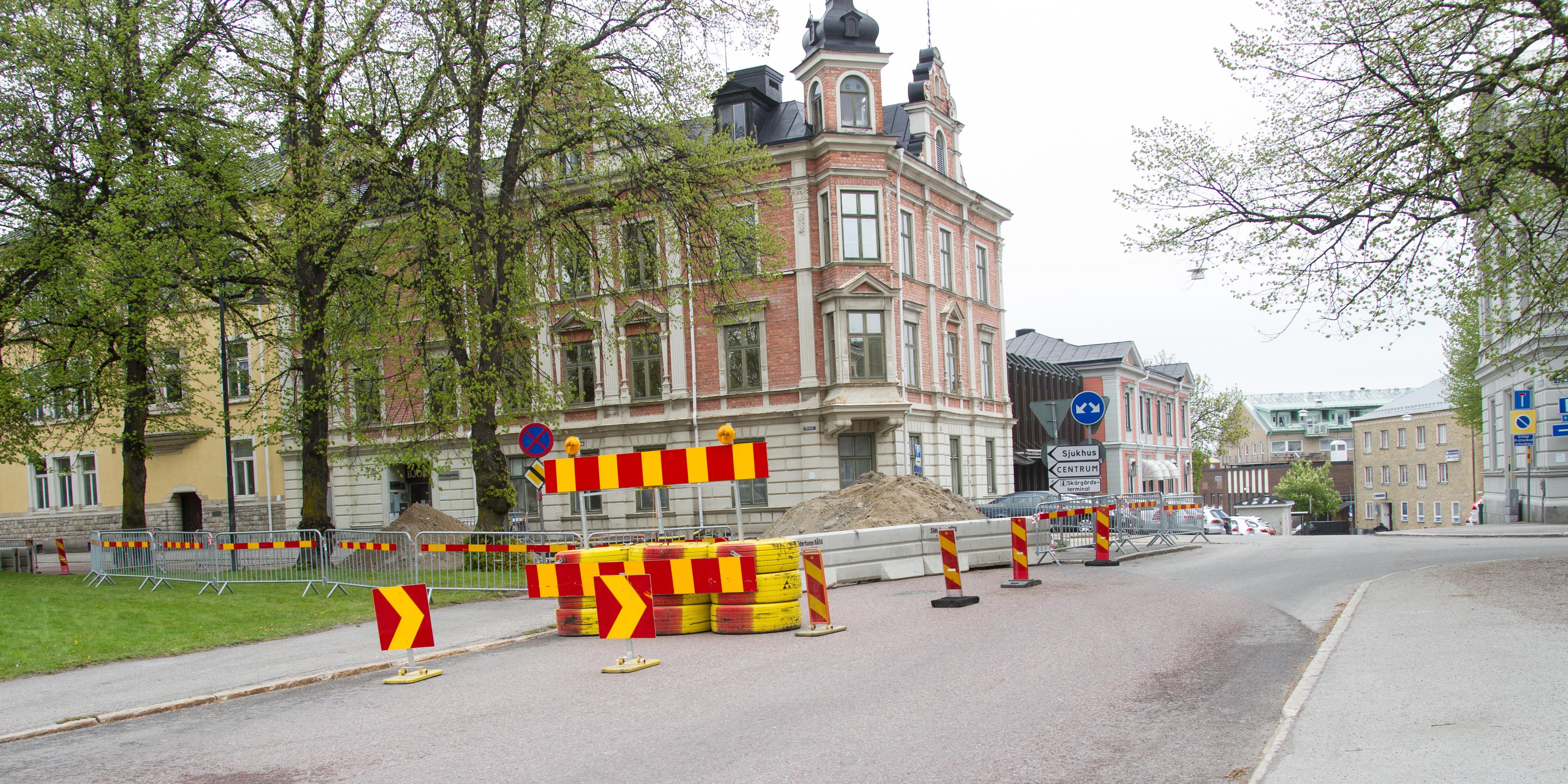 Omledning av trafik skapar förvirring: