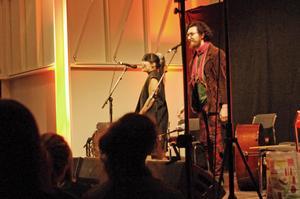 Hairbrain, som spelade bluegrass med supersväng, var en av kvällens höjdpunkter. Foto: Lennart Cromnow