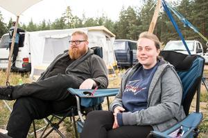 Niels och Lisa besökte festivalen för första gången och kunde inte komma på något att jämföra den med.