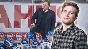 Hockeypuls Marcus Simm om Leksands IF:s SHL-drömmar. Foto: Bildbyrån/DT