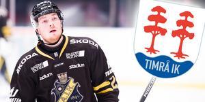 Bilden är ett montage. Jesper Frödén ryktas till Timrå, som AIK kan få möta i ett eventuellt kval om ungefär en vecka. Bild: Dennis Ylikangas/Bildbyrån.
