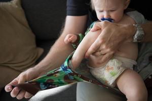 Ronja Strid (KD) vill hellre satsa på skattesänkningar för arbetande föräldrar än rätten till fler timmar i förskolan. Bild: Fredrik Sandberg/TT
