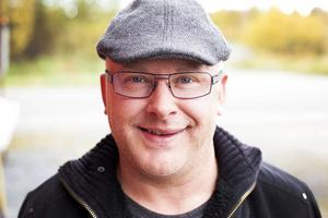 Robert Gjersvold, eldsjäl i Strömsunds MC. Foto. Annacarin Aronsson