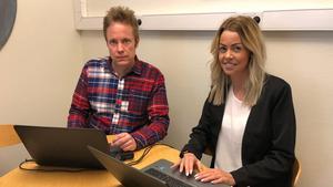 Andreas Eriksson och Susanne Hemmingsson.