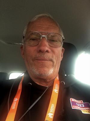 Jan Zimmerman är VIP-chaufför under U23-EM. Bild: Privat