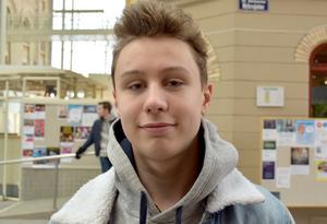 Alex Gudmundsson, 17 år, studerande, Sundsvall: