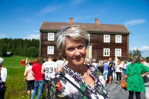 Katarina Wådell tror att hembygdsgårdarna bör tänka mer på samarbeten. Bilden är från sommarens flytt.