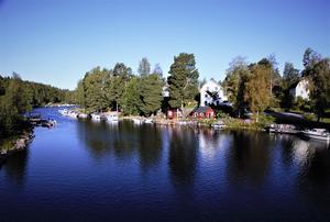 Näsvikens båthamn. Bild: Joacim Nilsson.
