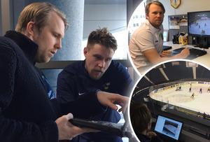 Johan Andersson har varit videocoach i Tre Kronor sedan Rikard Grönborg tog över som förbundskapten 2016.