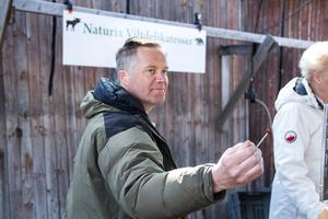 Naturix var på plats och sålde viltdelikatesser från närområdet.