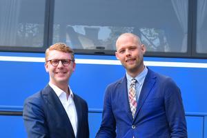 Satsningen på anropsstyrda bussar är enligt Kristoffer Tamsons (M) och Bino Drummond (M) en del i moderniserandet av kollektivtrafiken.