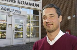 Miljö- och samhällsbyggnadsnämndens ordförande Daniel Adborn (L) Foto: Kristina Laitinen