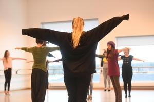 Danselever på Sigtuna kulturskola.Foto: Fredrik Sandberg/TT