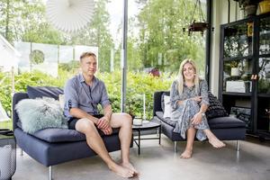 Ida och Jonas Sidén är ett sammansvetsat par som jobbar bra tillsammans.