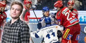 Leksand fick en enkel resa till seger i slutspelsserien på onsdagskvällen.  Foto: Daniel Eriksson/Bildbyrån.