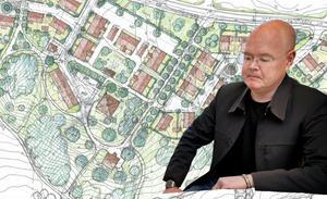 Nykvarnspartisten och kommunstyrelsens ordförande Bob Wållberg driver på för exploateringen av Älgbostad.