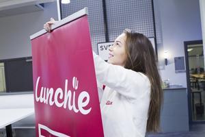 """""""Vi har jobbat hårt med att marknadsföra oss"""", säger Alisa Stevanovic som är marknadsansvarig för Lunchie."""