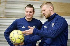 Lloyd Saxton är den enda engelsmannen i Allsvenskan just nu.