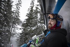Kasete Naufahu Skeen hoppas på att kvala in till huvudtävlingen under alpina VM i Åre.