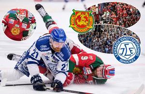 Mattias Ritola var en av isens bästa spelare under match fem, men Christian Engstrand stal showen. Foto: Bildbyrån/Nisse Schmidt.