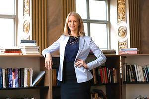 Anna Wiger Jensen är verksamhetschef på Jensen Education. Bild: Pressbild