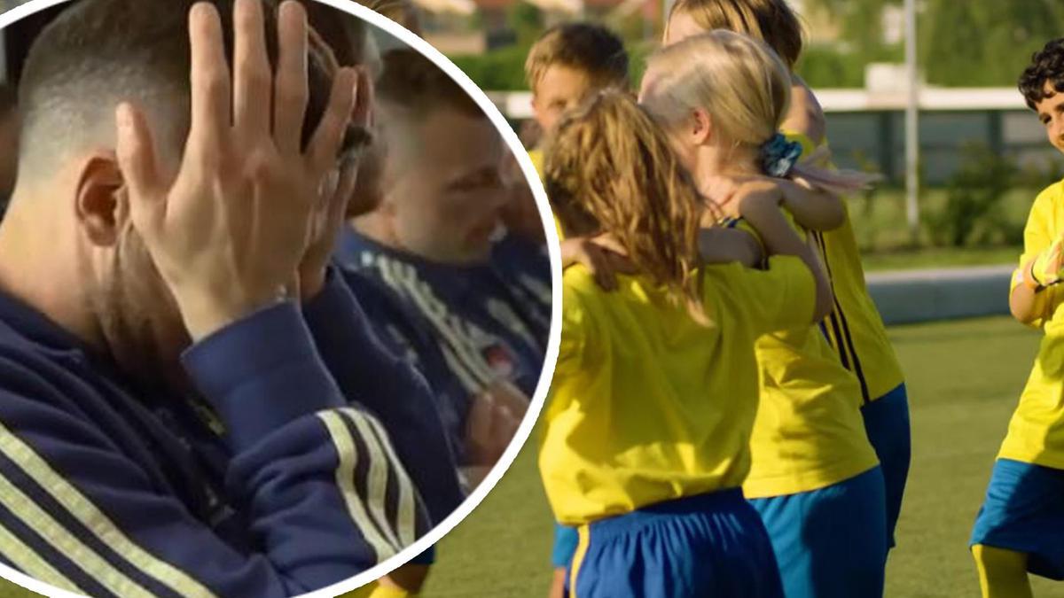 Barnens överraskning till svenska VM-stjärnorna – hör låten som rör  spelarna till tårar 26339d2c2df1d