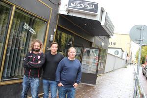 Från vänster: Daniel Arkenson, Mattis Holm och William Smedberg.
