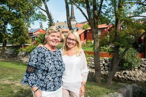 Christina Olstrand och Anneli Hallström på Client Event Sweden.