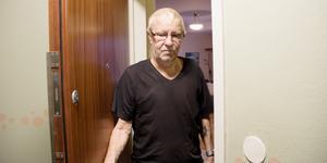 Lennart Haglund, en av grannarna som hördes av polisen under natten till torsdagen.