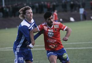 Det blev många tuffa dueller mellan Robert Bronegård och Mohammed Aldahan.