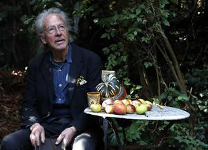 Peter Handkes författarskap uttrycker både misstänksamhet mot språket och en stor tilltro till litteraturen på en och samma gång.  Foto: Francois Mori/AP