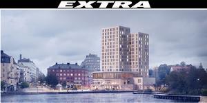 Skiss: Stadsrum. Så här kan hotellet komma att se ut.