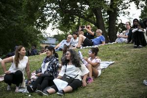 Cirka 200 personer besökte BLG Summer totalt, enligt arrangörerna.