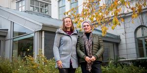Jennie Palmberg och Charlotte Agnevik Jonsson har uppdraget att samordna länets suicidprevention.