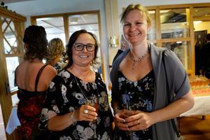 Eva Hamrin och Eva Forslund hade hittat varandra.