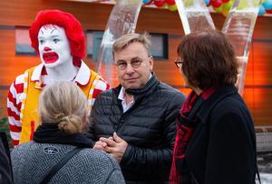 Clas-Göran Jönsson, franchisetagare, har mångårig erfarenhet av att driva en McDonald's-restaurang.