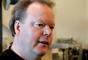Första dagen på nya jobbet. En skön känsla, säger Lars Nordahl.