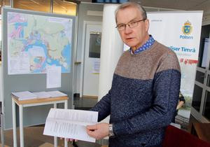 Håkan Eriksson är mannen bakom den nya översiktsplanen.